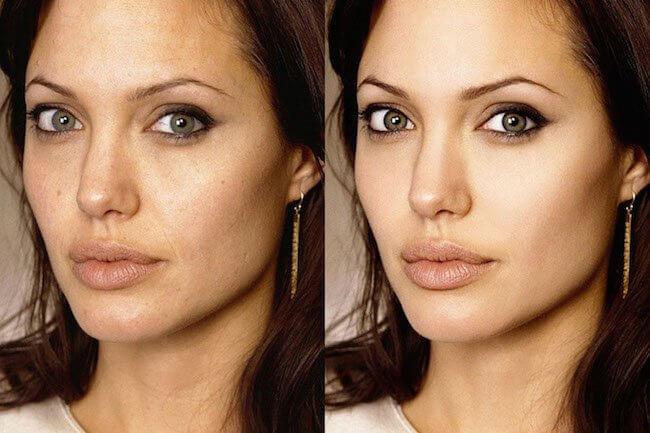 24 célébrités avant et après retouche photoshop !
