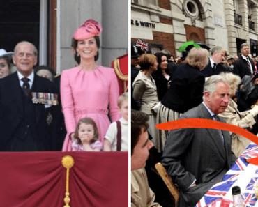 le régime de la famille royale birtannique