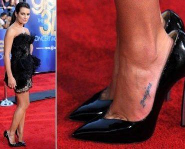 star avec ses chaussures trop grandes