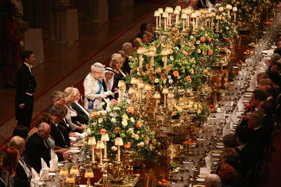 buffet de la famille royale